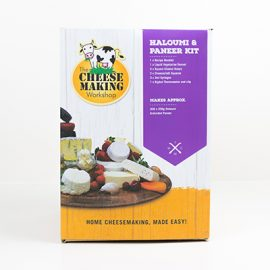 Halloumi and Paneer Cheese Making Kit
