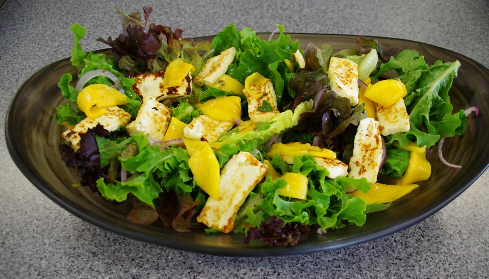 Haloumi and Mango Salad - The Cheesemaking Workshop
