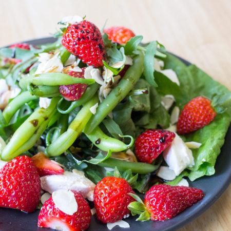 Strawberry And Labne Salad
