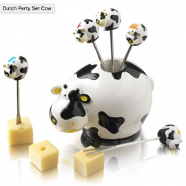 Party Pic Cow Cheese Pick Set