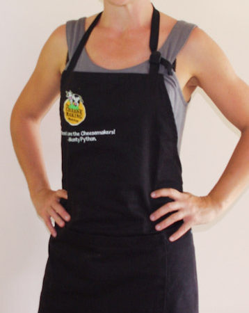 Cheesemaking apron