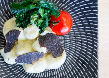 Blue Cheese Gnocchi with Tasmanian Truffle