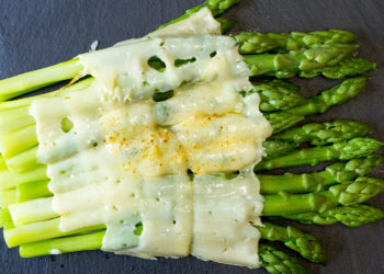 Cheese and Asparagus