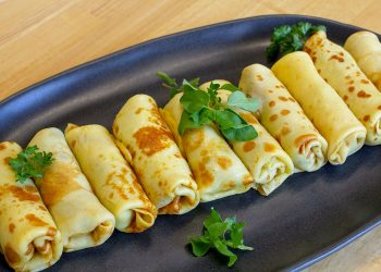 Courgette Crepes