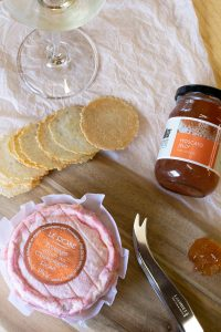 Champagne rose and moscato jelly